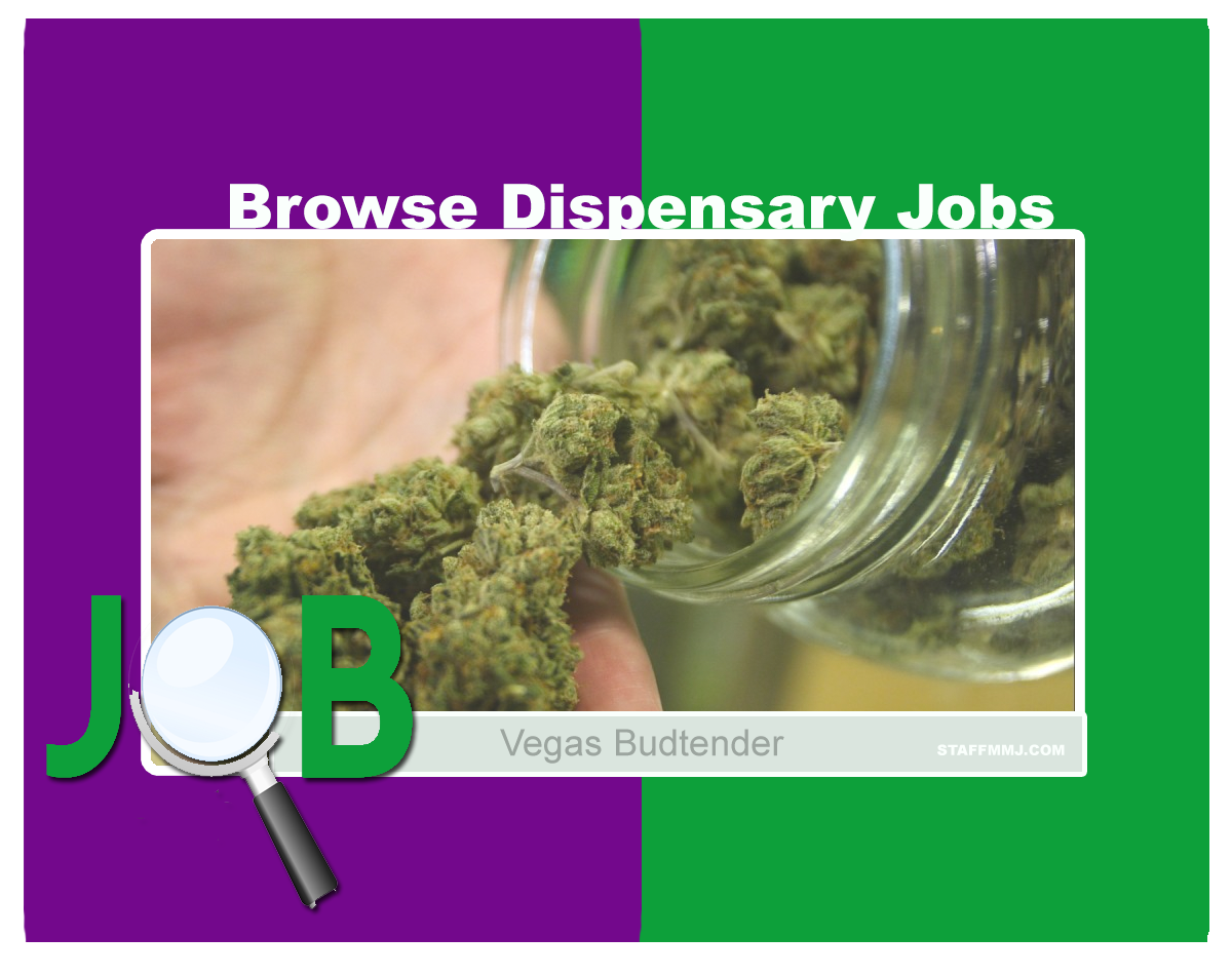 find dispensary job