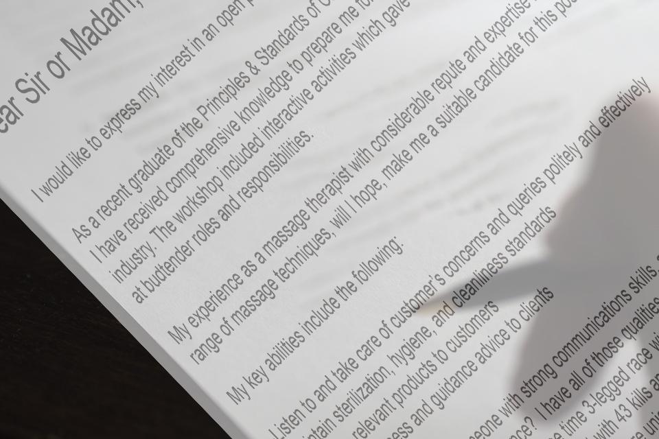 resume tips for medical marijuana jobs