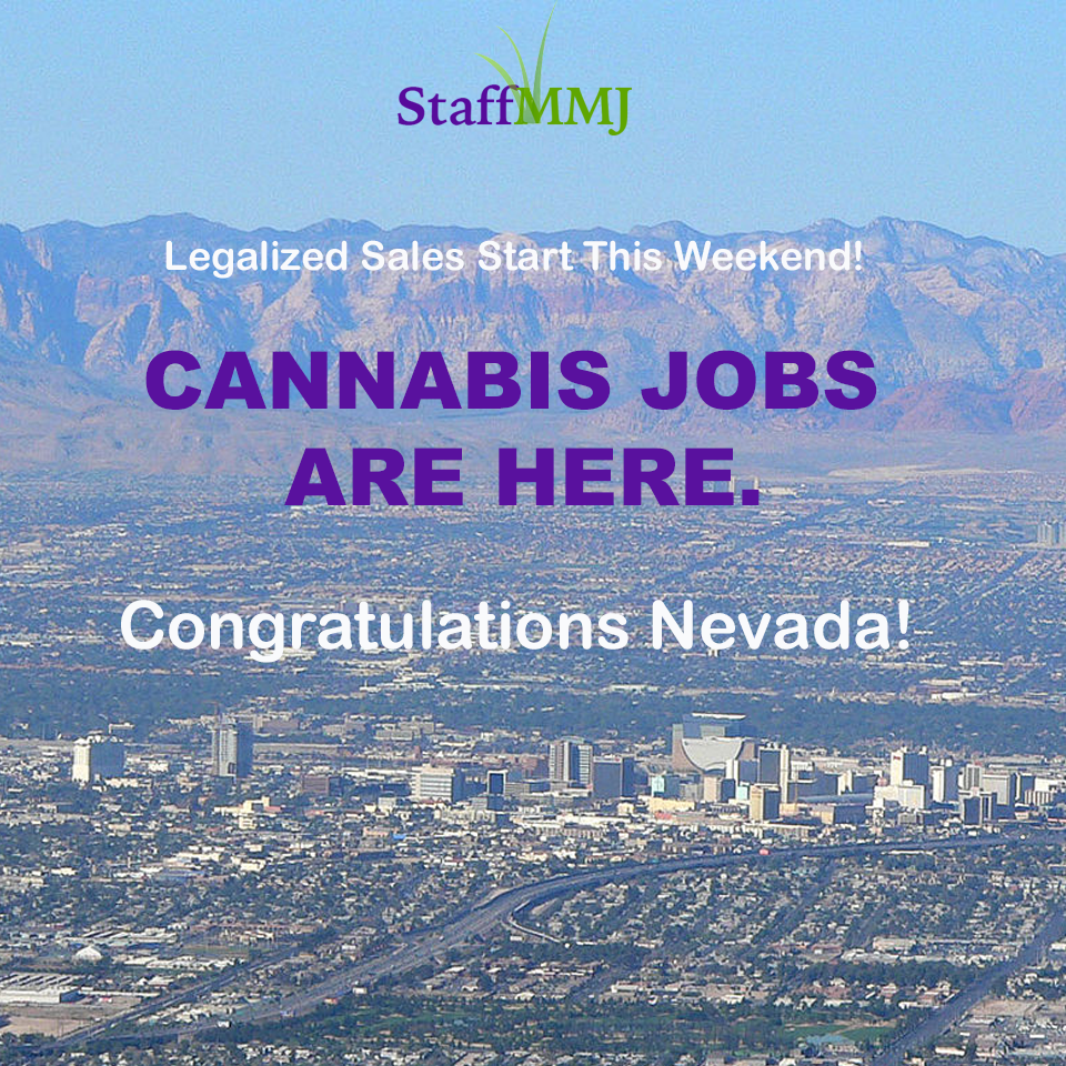 Nevada Legalization Brings Jobs