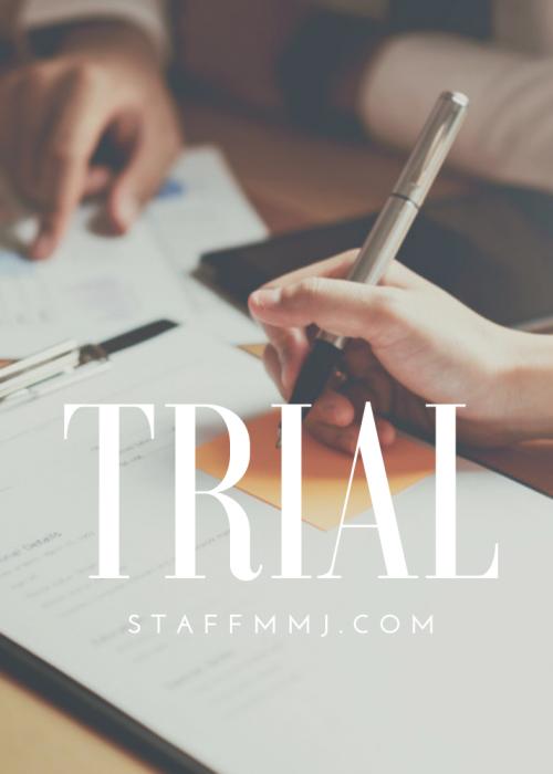 staff mmj trial profile package
